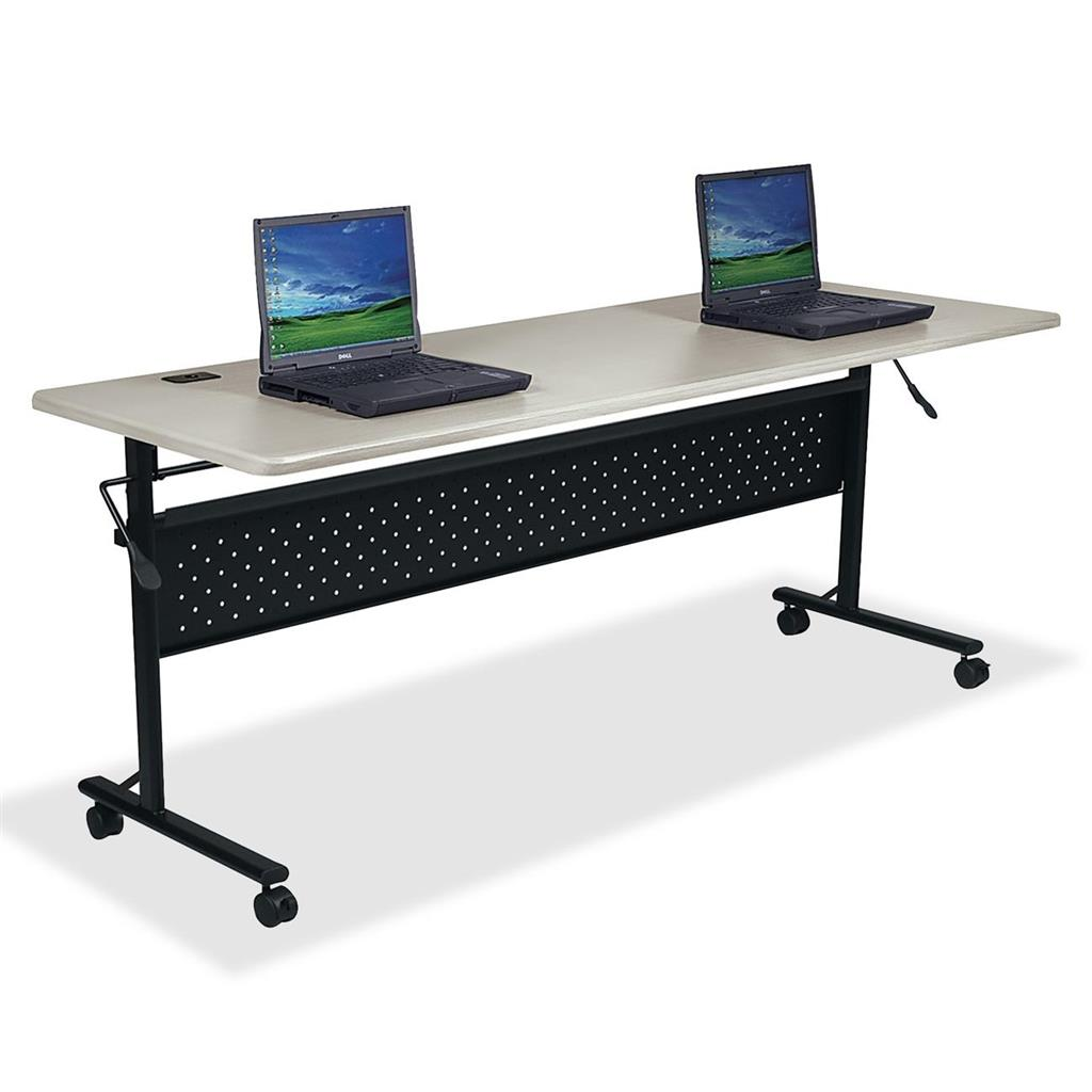 TABLE,FLIPPER,60X24,SLV