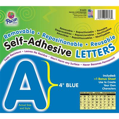 "LETTERS,4"",SS,REUSE,BLU"